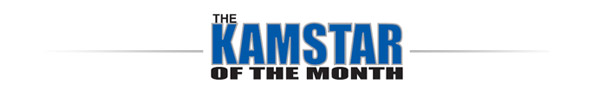 Kamstar Of The Month Logo