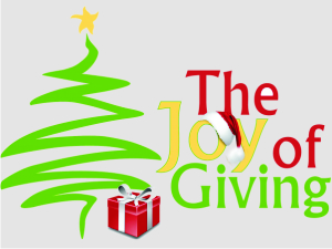 Like every year, we celebrated Joy of Giving