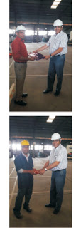 An every day 9.45 to 10.00 am Safety Standing Meeting
