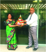 Our Favourite, Ms. Alka Naik from the Accounts and Finance Team Retired