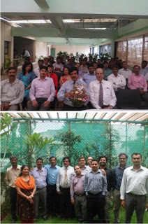 Our CFO - Mr. Mohanrajan Pisharody, retired this month