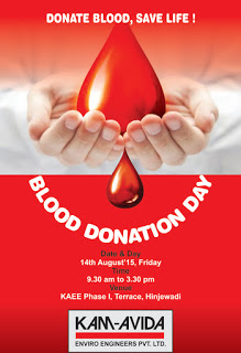On the 14th of August, our annual Blood Donation camp