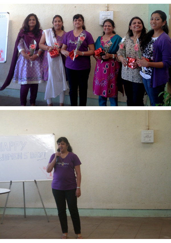 Celebrated Womens Day at KAEE