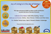 Celebrated 'Joy of Giving Week'