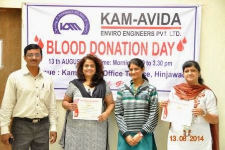 Organized Blood Donation Day