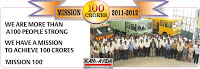Launched Mission 100 crores