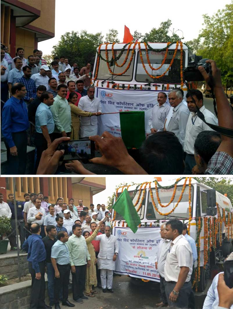 Faridabad Municipal Corporation inaugurates its first Sweeper under the Swachh Bharat Mission