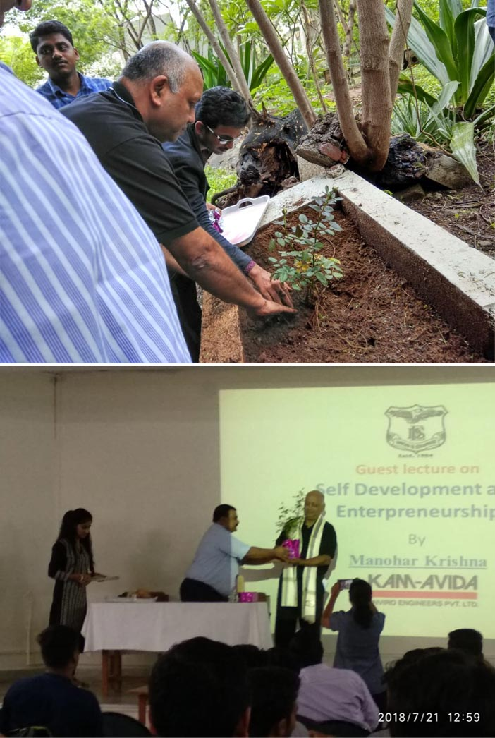 Our Chief Marketing Officer - Mr. M Krishna visits the IMDR College, Pune to enteract with the young mains. Here re some photos of Sir with the students.